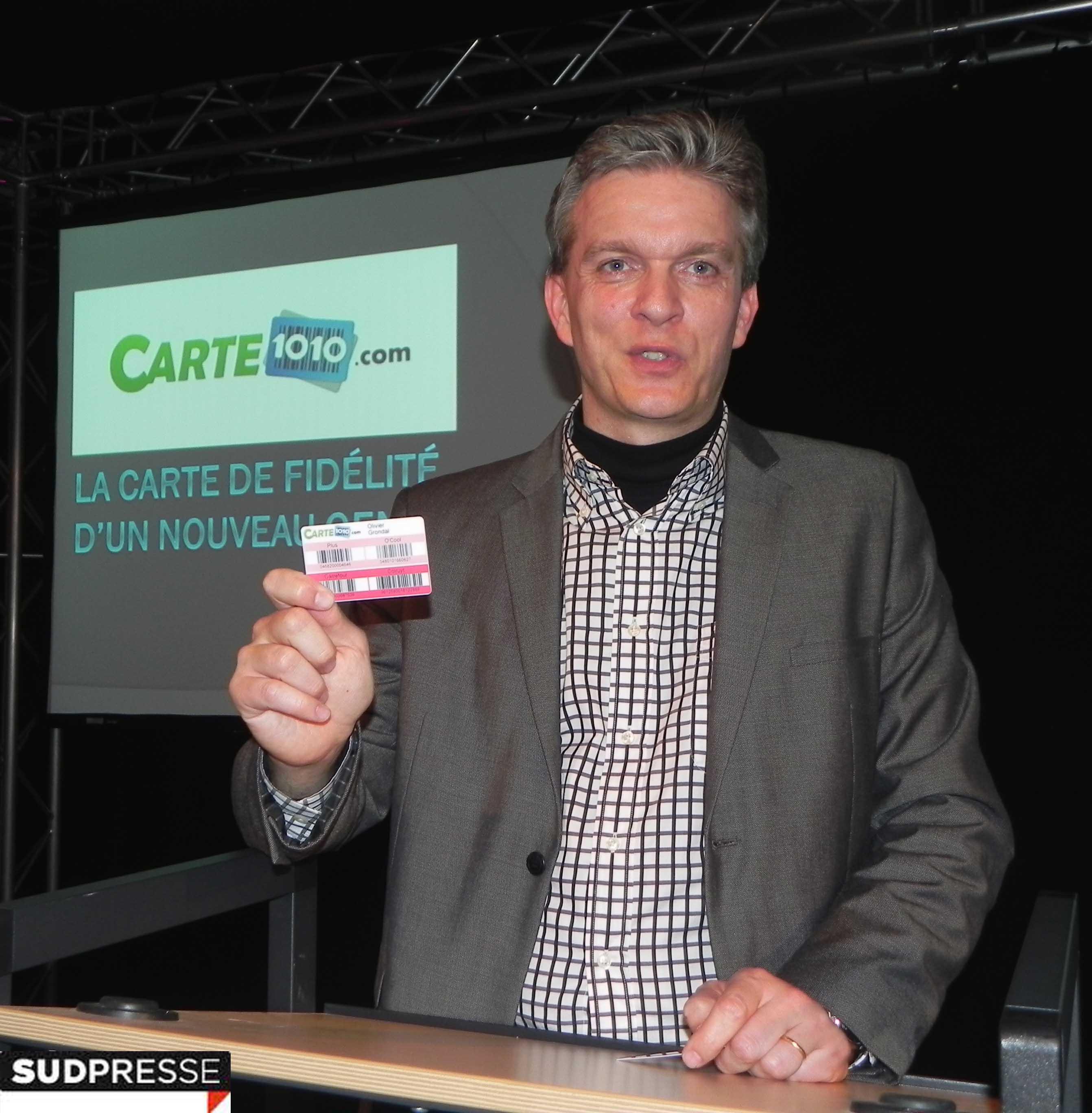 Carte 1o1o com la presse parle de la carte de fid lit for Salon entreprendre